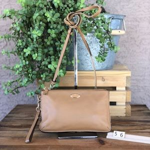 Coach vintage leather crossbody purse